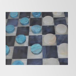 Checkers Throw Blanket