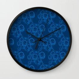 Spaztic Bots Wall Clock