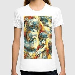 AnimalArt_OrangUtan_20170910_by_JAMColorsSpecial T-shirt