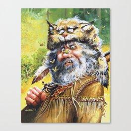 Bugged Mountain Man Canvas Print