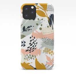 Abstract strokes still life iPhone Case
