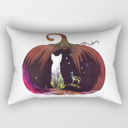 Hallow Kitty Rectangular Pillow