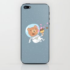Space Bear iPhone & iPod Skin