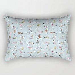 Ladies gym bag Rectangular Pillow