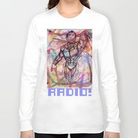 swim Long Sleeve T-shirts featuring swim by RADIO
