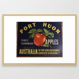 Apple Crate Framed Art Print
