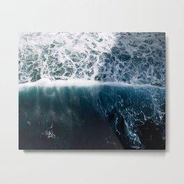 Sun Wave in the Atlantic Ocean - Seascapes Metal Print