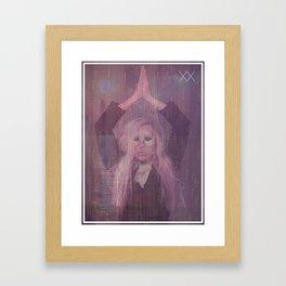 LIGHTNING & CONSTELLATIONS Framed Art Print