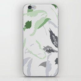 FLORAL ABSTRACTION 2 iPhone Skin