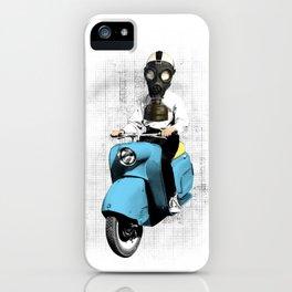 Vespa Man iPhone Case
