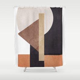 Abstract Geometric Art 10 Shower Curtain