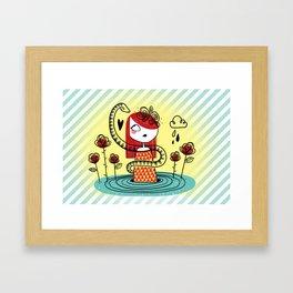 Agua Framed Art Print