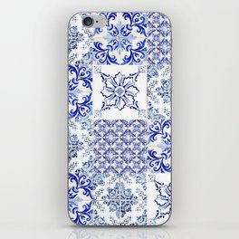 azulejos - Portuguese painted tiles iPhone Skin