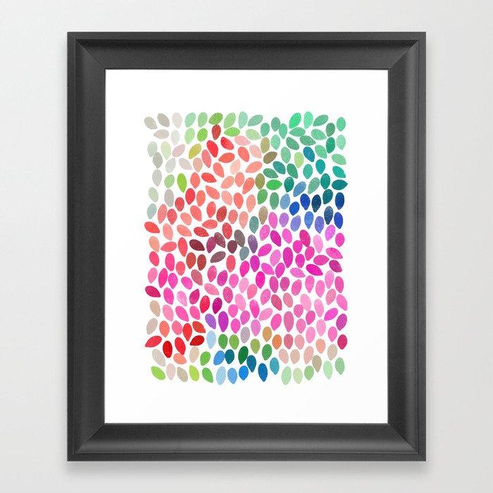 rain 5 Framed Art Print