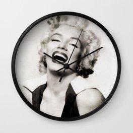 Marily, Actress Wall Clock