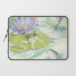 A Waterbaby's World Laptop Sleeve