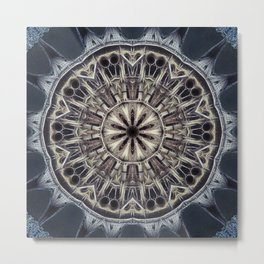 Cathedral Abstract Tile 23 Metal Print