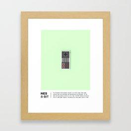The NES Framed Art Print