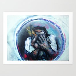 Hands/Circle Jerks Art Print