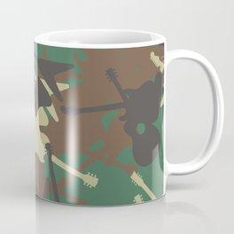 Guitar Camouflage Coffee Mug