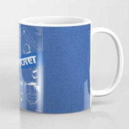 Baymax Blueprint Big Hero Coffee Mug
