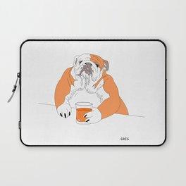 dog drink whisky Laptop Sleeve