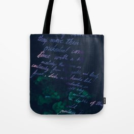 """""""Conquest of the Useless"""" by Werner Herzog Print (v. 10) Tote Bag"""
