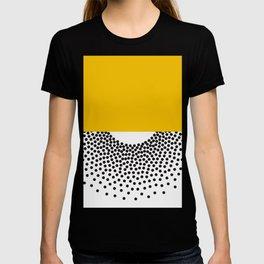 Abstract art PRINt, Polka dots print, Abstract poster, Minimalist Print, Dot art print, Red and pink T-shirt