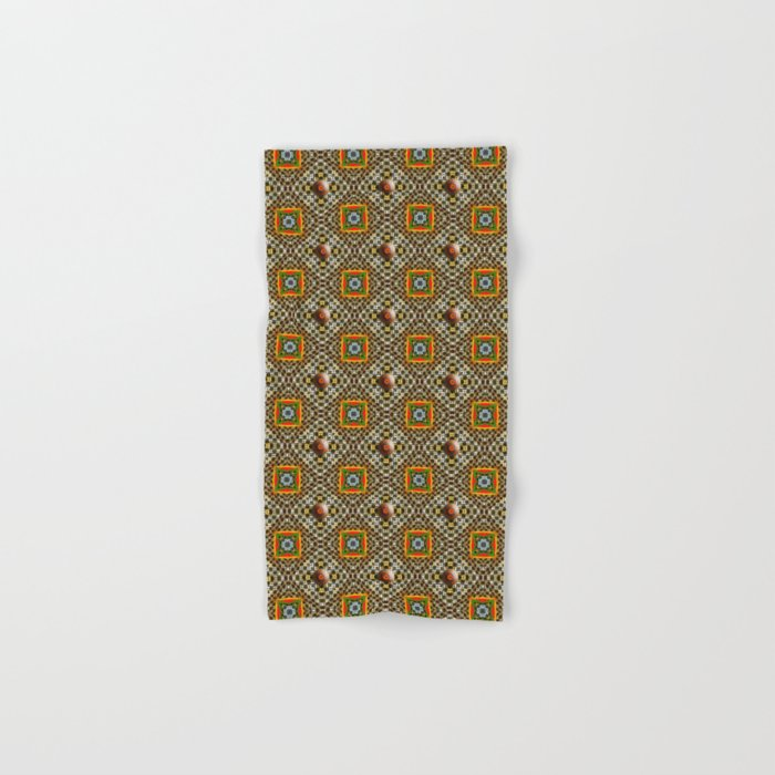 Odo Pattern Hand & Bath Towel