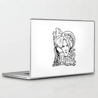 oscar wilde Laptop & iPad Skins featuring Oscar Wilde by LiseRichardson