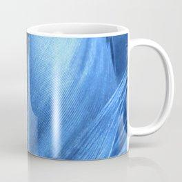 Feather Blue Coffee Mug