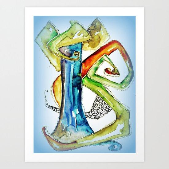 Nr. 444 Art Print