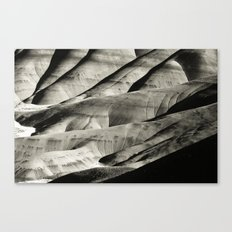 Painted Hills Monotone Canvas Print