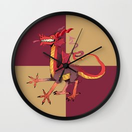 wow dragon Wall Clock