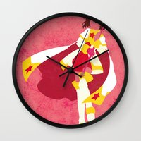 sakura Wall Clocks featuring Sakura by JHTY