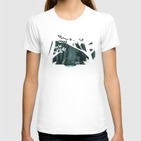 fireflies T-shirts featuring Chasing fireflies by scarriebarrie