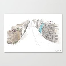 A street Canvas Print