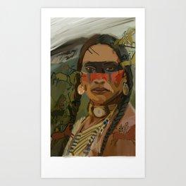 Native Americans pride Art Print 2d124e6e2e0f