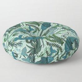 Narwhals Floor Pillow