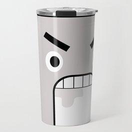 Metal Face Travel Mug
