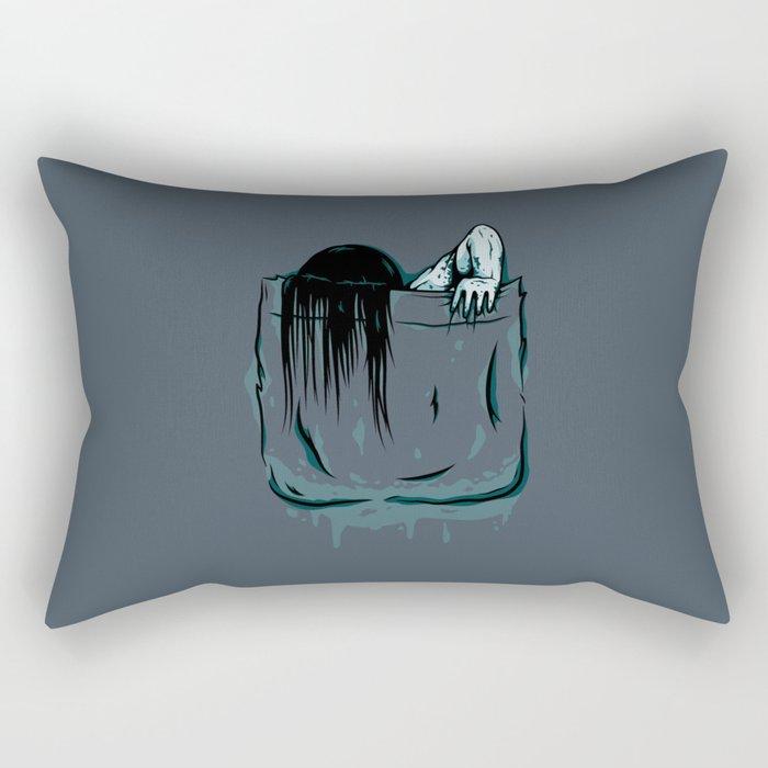 Pocket Samara Rectangular Pillow