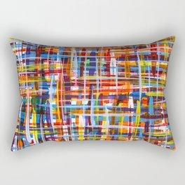 Tangled Strings Rectangular Pillow