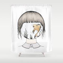Fishtankhead Shower Curtain