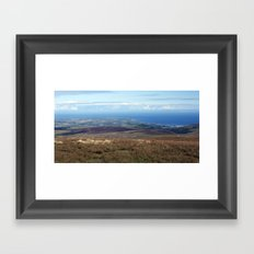 The Point of Ayre and Ramsey Framed Art Print