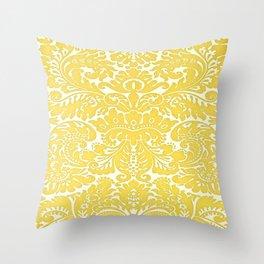 Gold ROyal Throw Pillow
