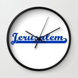 Jerusalem Wall Clock
