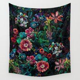 EXOTIC GARDEN - NIGHT IX Wall Tapestry