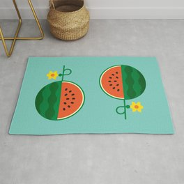 Fruit: Watermelon Rug