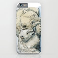 polar bears sleeping 492 Slim Case iPhone 6s
