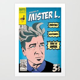 Lynch Art Print